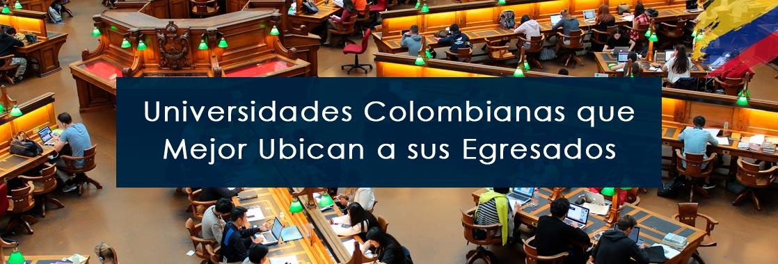 universidades colombianas que mejor ubican a sus egresados