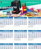 colegio calendario b colombia