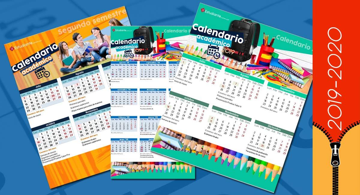 calendarios-academicos-colegio-universidad-colombia